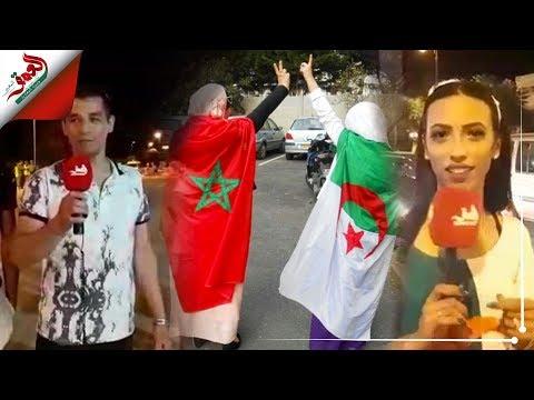 شاهد سكان مدينة وجدة يُوجّهون رسائل مُؤثِّرة للجزائريين