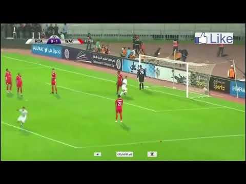 شاهد هدف نغوما ومنح الرجاء التعادل أمام الوداد في الدقيقة 47
