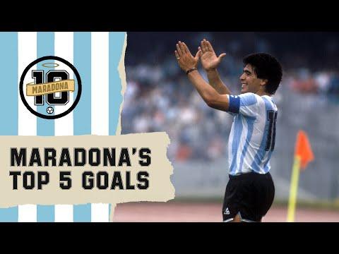 شاهد أجمل أهداف الأسطورة الأرجنتيني الراحل دييغو مارادونا