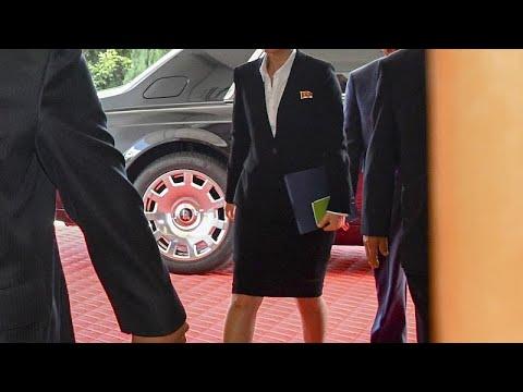 سيارة زعيم كوريا الشمالية تُثير فضول الصحافيين