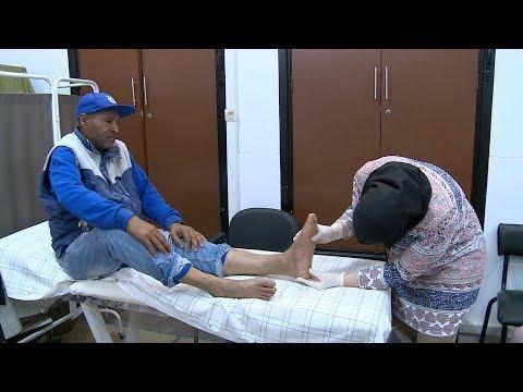 شاهد انطلاق حملة طبية بالرباط للكشف عن القدم السكرية