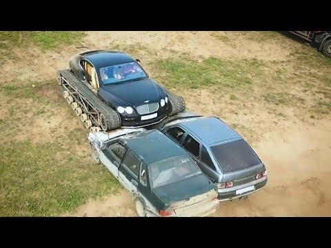 سيارة بنتلي مجنزرة في روسيا فقط