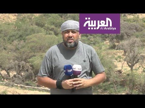 فيديو يوثِّق التفاف الشرعية اليمنية لقطع طريق مجز قطابر في صعدة