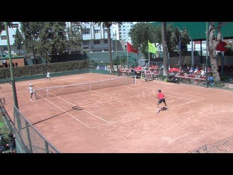 شاهد مدينة طنجة المغربية تستضيف دوري المستقبل الدولي لكرة المضرب