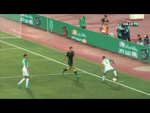 شاهد كواليس مباراة الرجاء البيضاوي وريال بتيس الإسباني