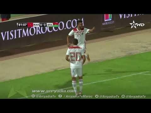 شاهد كريم البركاوي يمنح المنتخب المغربي المحلي التفوق على بوركينافاسو