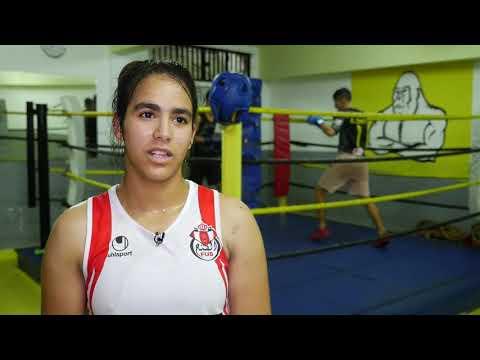 شاهد شيماء غدي قصة بطلة مغربية صاعدة في الملاكمة