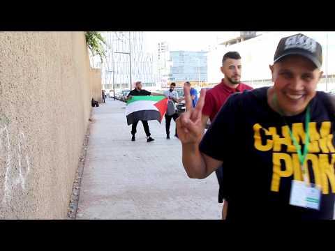 جمعيات مشجعة للرجاء تقوم بجولة سياحية لجماهير الفريق الفلسطيني